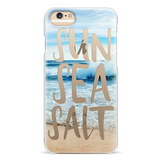 iPhone 6 Cases - SUN SEA SALT