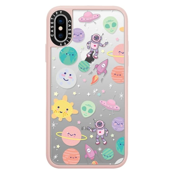 iPhone X Cases - Cute Space