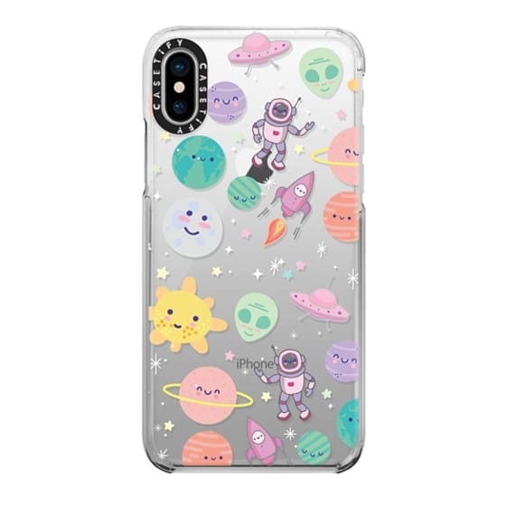 iPhone X Cases - Cute Space