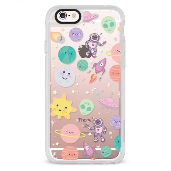 iPhone 4 Cases - Cute Space