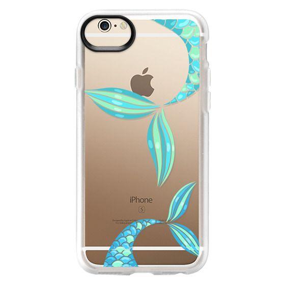 iPhone 6 Cases - mermaid tails