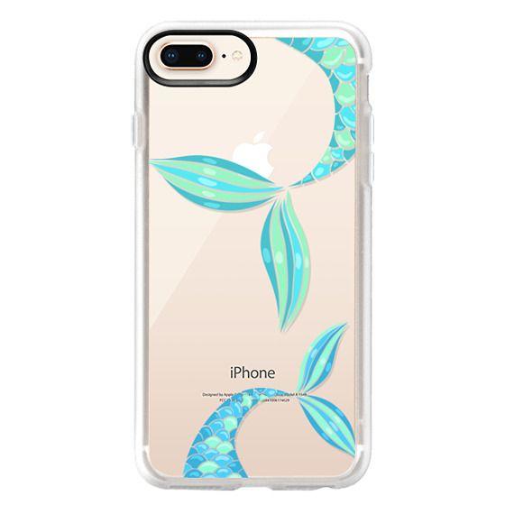 iPhone 8 Plus Cases - mermaid tails
