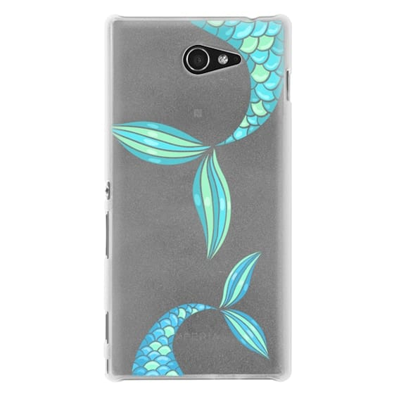 Sony M2 Cases - mermaid tails