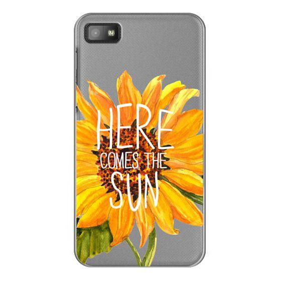 Blackberry Z10 Cases - Here Comes The Sun