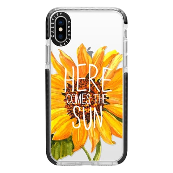 iPhone X Cases - Here Comes The Sun