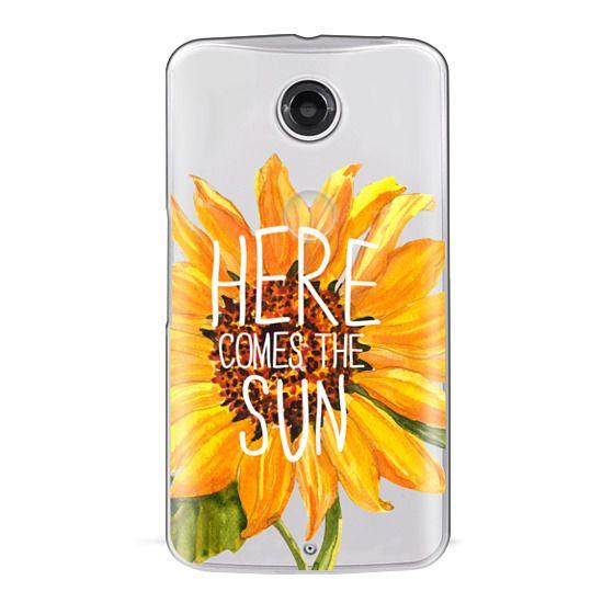 Nexus 6 Cases - Here Comes The Sun