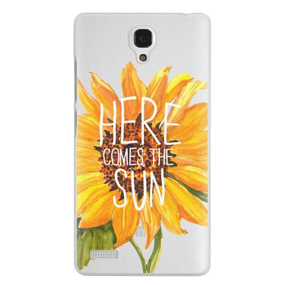 Redmi Note Cases - Here Comes The Sun
