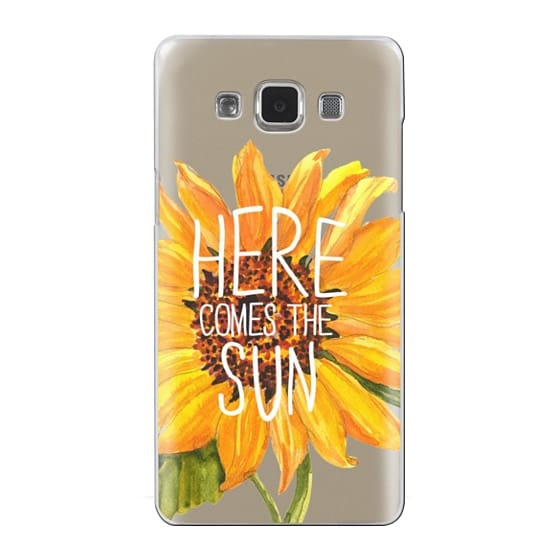 Samsung Galaxy A5 Cases - Here Comes The Sun