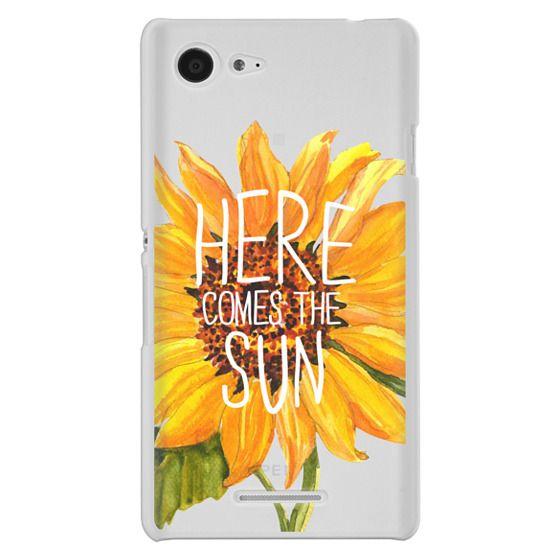 Sony E3 Cases - Here Comes The Sun