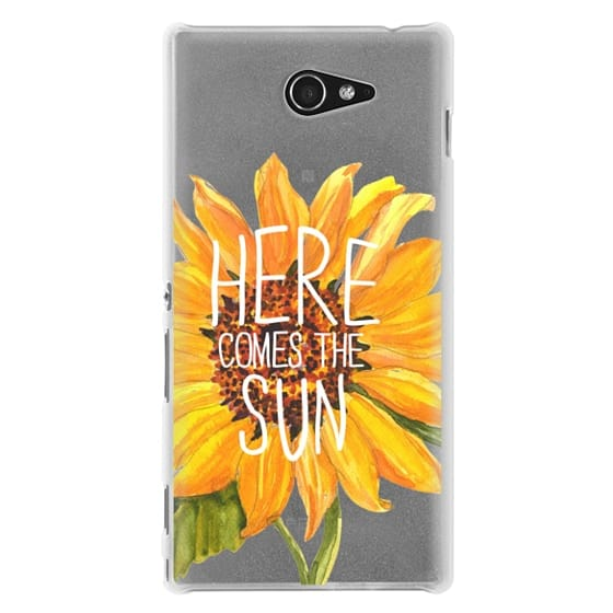 Sony M2 Cases - Here Comes The Sun