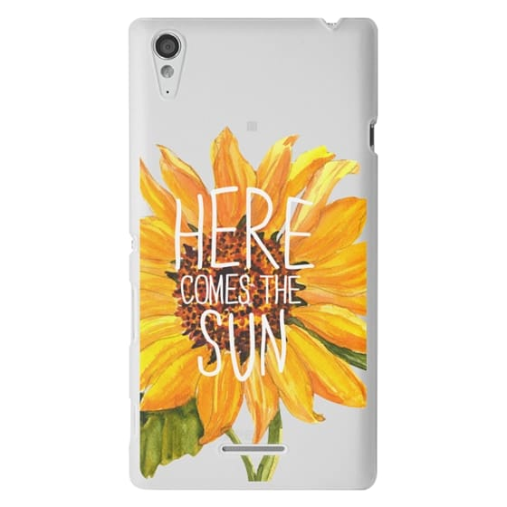 Sony T3 Cases - Here Comes The Sun