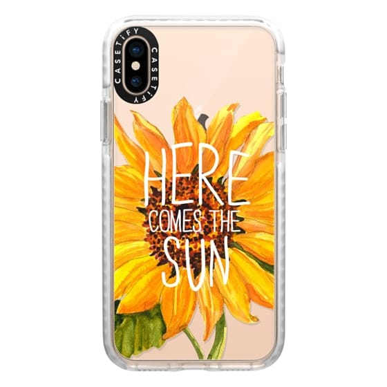 iPhone XS Cases - Here Comes The Sun