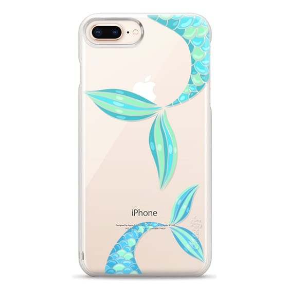 iPhone 8 Plus Cases - mermaid tails