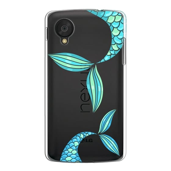 Nexus 5 Cases - mermaid tails