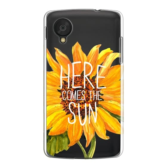 Nexus 5 Cases - Here Comes The Sun