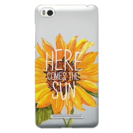 Xiaomi 4i Cases - Here Comes The Sun