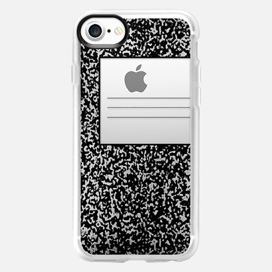 Cool Black and White Composition Notebook design -