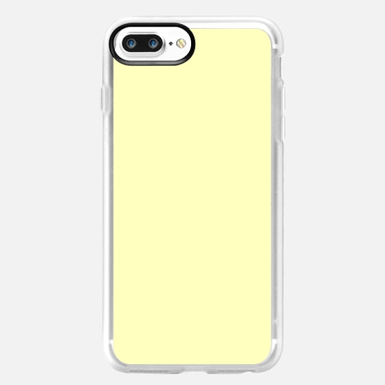 Simple Elegant Pastel Canary Yellow -