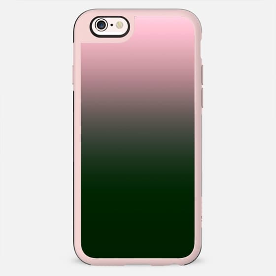 Elegant Pink and Black Gradient - New Standard Case