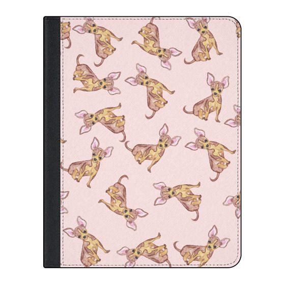 11-inch iPad Pro Covers - Cute Animal Watercolor Chihuahua Dog Pet Pattern