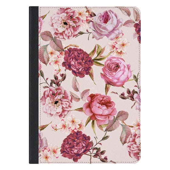 10.5-inch iPad Pro Covers - Blush Pink Rose Watercolor Chic Illustration Floral Pattern