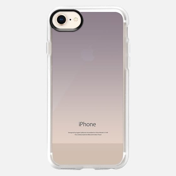 Simple Trendy Black to Transparent Gradient - Snap Case