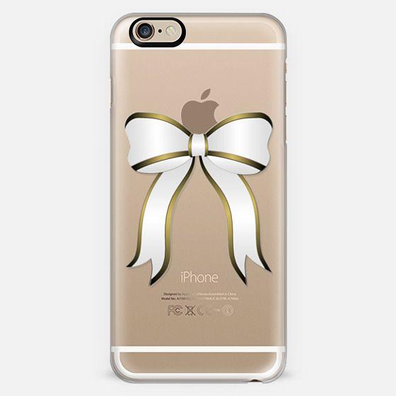 Gold Holidays Present Bow- Transparent -