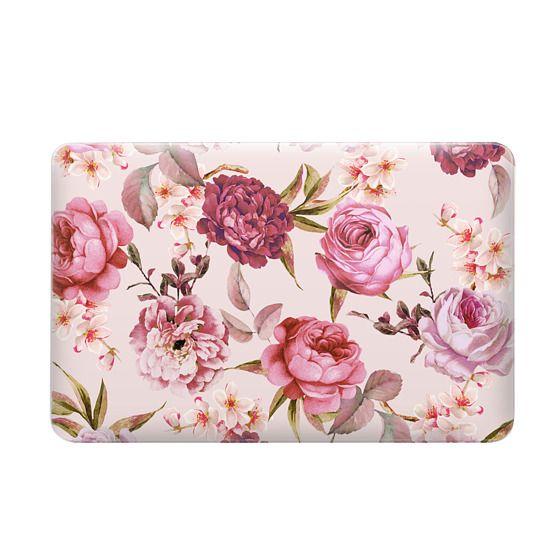 Blush Pink Rose Watercolor Chic Illustration Floral Pattern