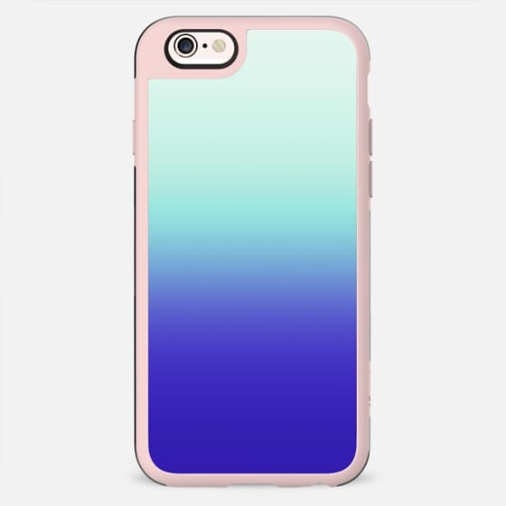 Trendy Teal Green to Deep Sea Blue Gradient - New Standard Case