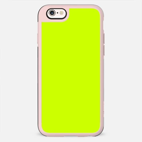 Simple Neon Yellow - New Standard Case