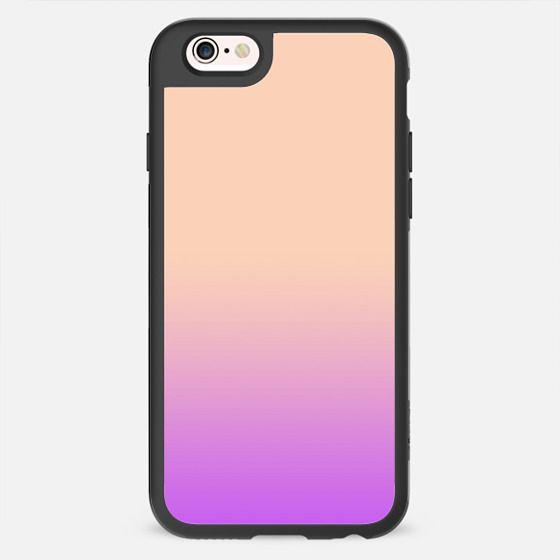 Minimal Artsy Pastel Purple Peach Color Gradient