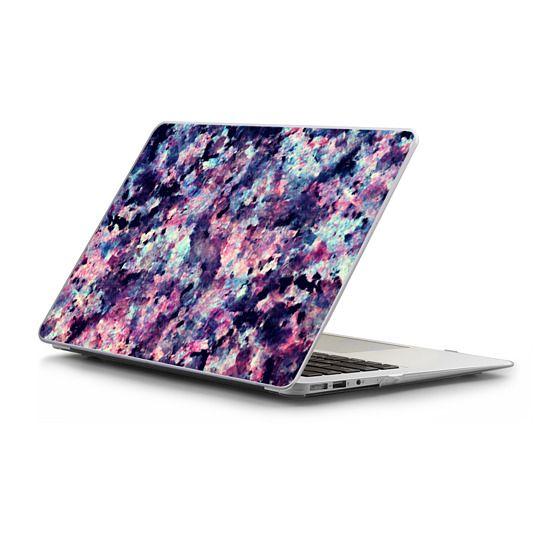 MacBook Air 11 Sleeves - Teal, Black, and Pink Granite Marble Stone Abstract Pattern