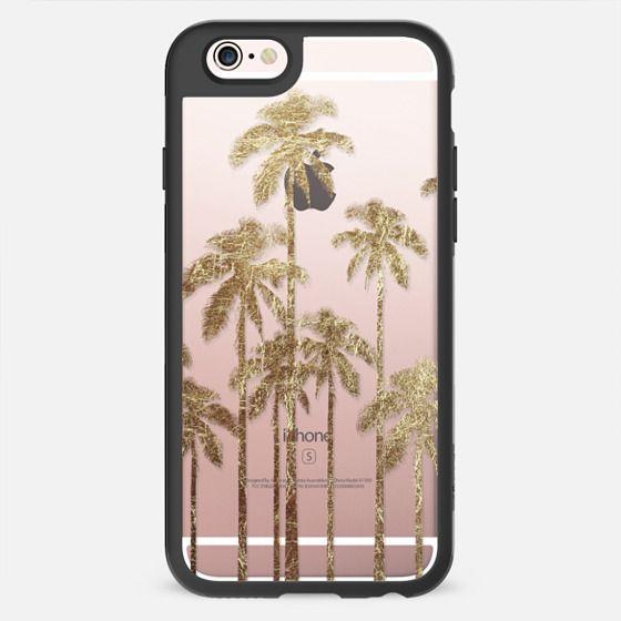 Faux Gold Foil Palm Trees -