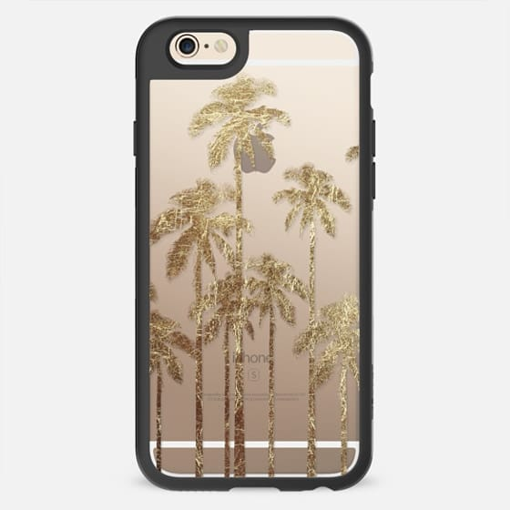 Faux Gold Foil Palm Trees