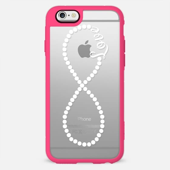 Elegant Romantic Love Text Typography Infinity Casetify