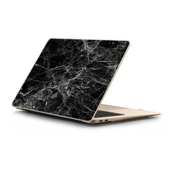 MacBook Air Retina 13 Sleeves - Trendy Black and White Marble Stone Pattern