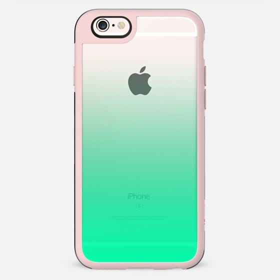 Teal to Transparent Gradient - New Standard Case