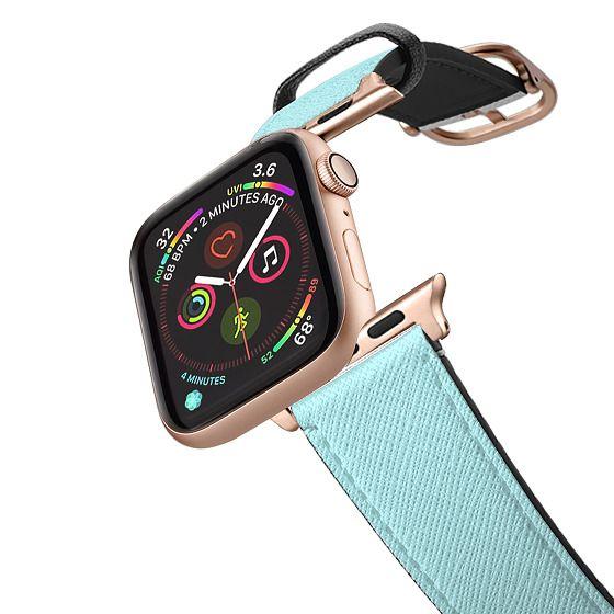 Apple Watch 38mm Bands - Simple Elegant Pastel Blue