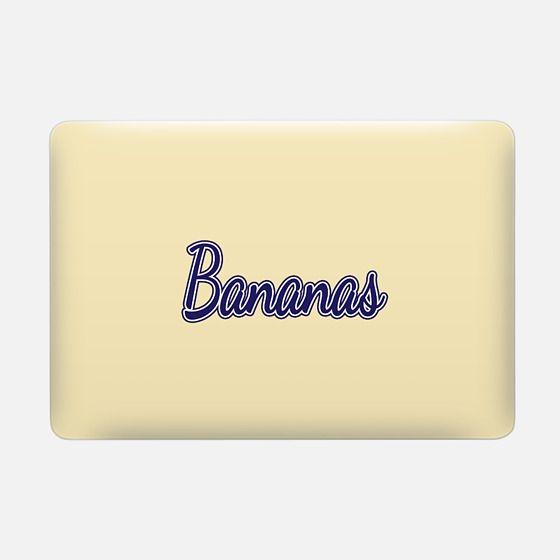 """""""Bananas"""" Typography on Yellow -"""