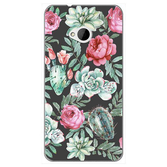 Cute Succulent Watercolor Painted Flower  Cactus Pattern