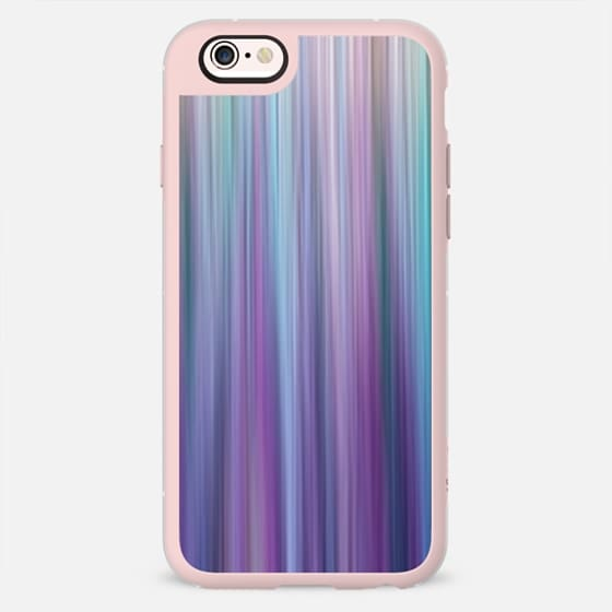 Elegant Modern Pink Purple Teal and Blue Abstract Gradient Stripes Pattern -