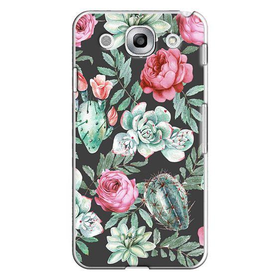 Optimus G Pro Cases - Cute Succulent Watercolor Painted Flower  Cactus Pattern