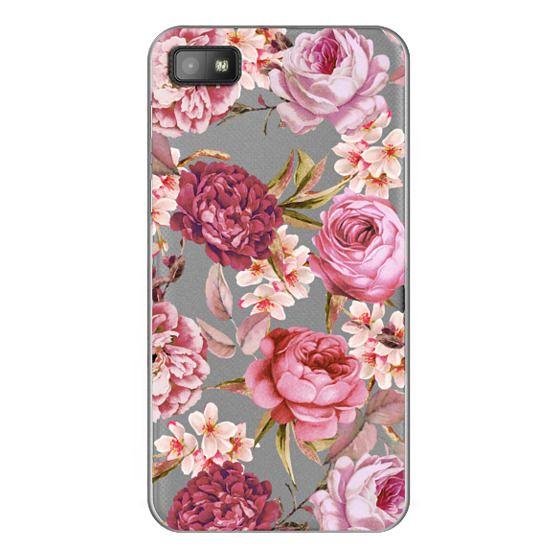 Blackberry Z10 Cases - Blush Pink Rose Watercolor Chic Illustration Floral Pattern