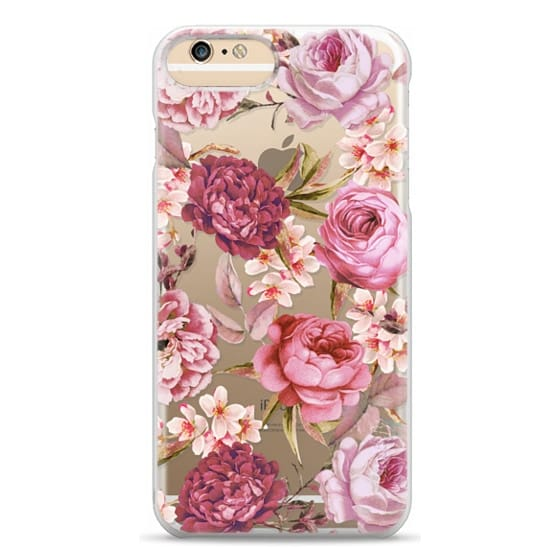 iPhone 6 Plus Cases - Blush Pink Rose Watercolor Chic Illustration Floral Pattern