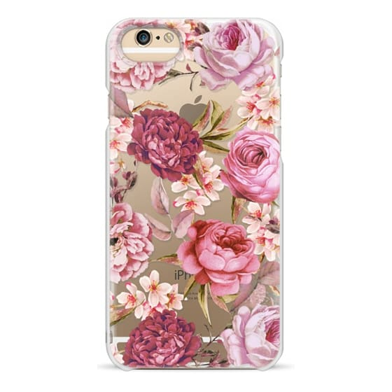 iPhone 6s Cases - Blush Pink Rose Watercolor Chic Illustration Floral Pattern