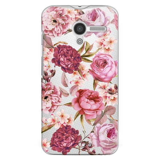 Moto X Cases - Blush Pink Rose Watercolor Chic Illustration Floral Pattern