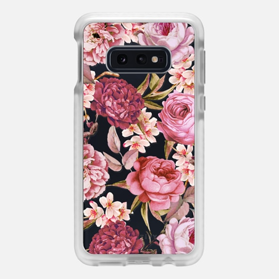 Samsung Galaxy / LG / HTC / Nexus Phone Case - Blush Pink Rose Watercolor Chic Illustration Floral Pattern