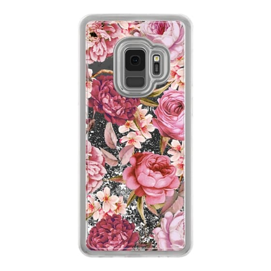 Samsung Galaxy S9 Cases - Blush Pink Rose Watercolor Chic Illustration Floral Pattern