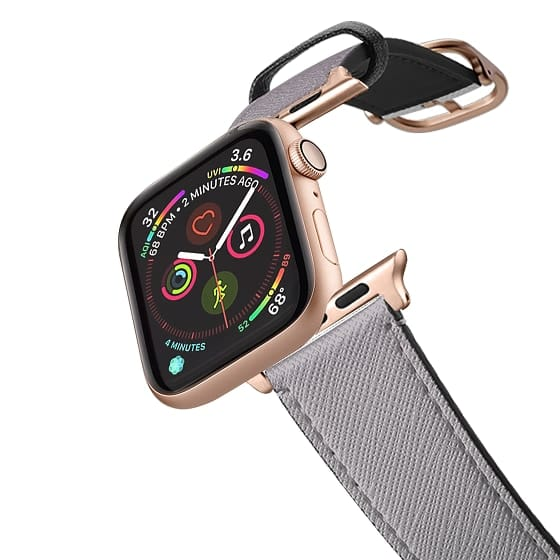 Apple Watch 38mm Bands - Simple Trendy Black to Transparent Gradient