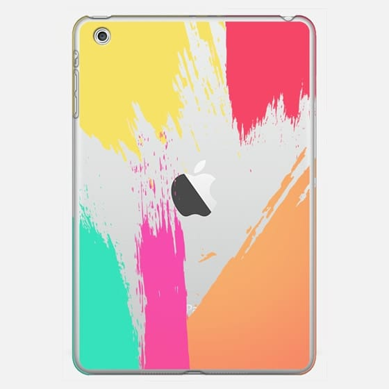 Colorful Abstract Paint Brush Stokes  - Classic Snap Case